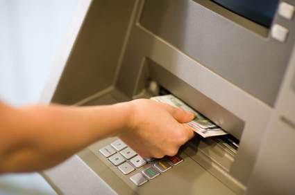 Kontantuttag med bankkort