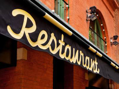Restaurangbesök, kredit