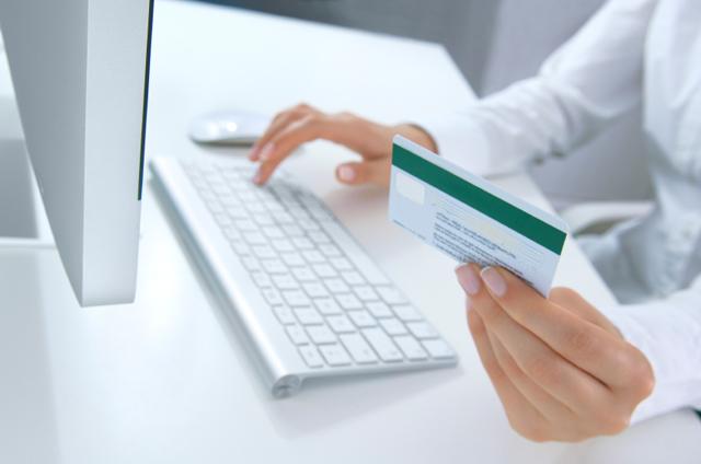 Shopping med kort online