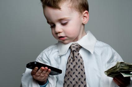 SMS-lån barn